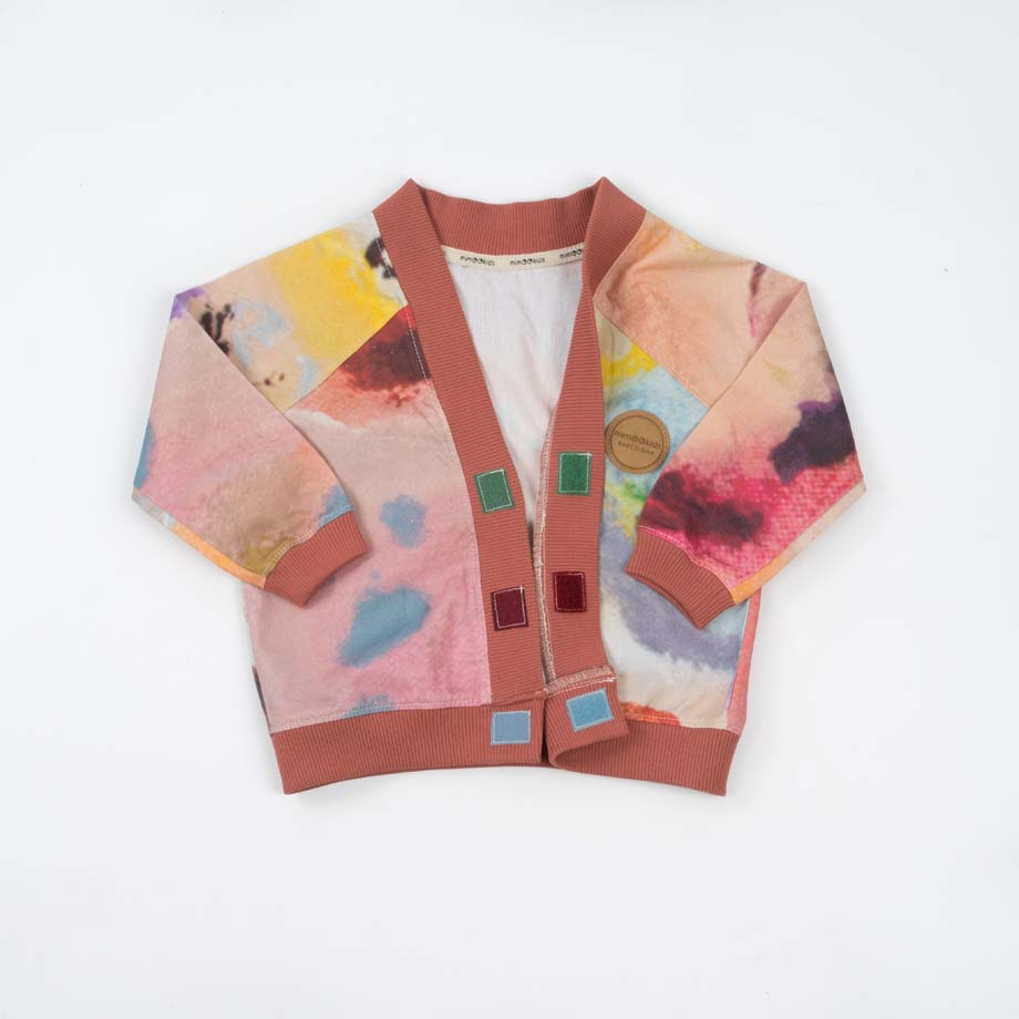 mimOOkids Tops Close-Me Cardigan Colours Arts (3)