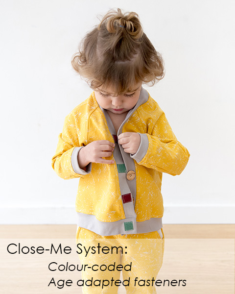 MIMOOKIDS CLOSE-ME CARDIGAN SLIDER 3