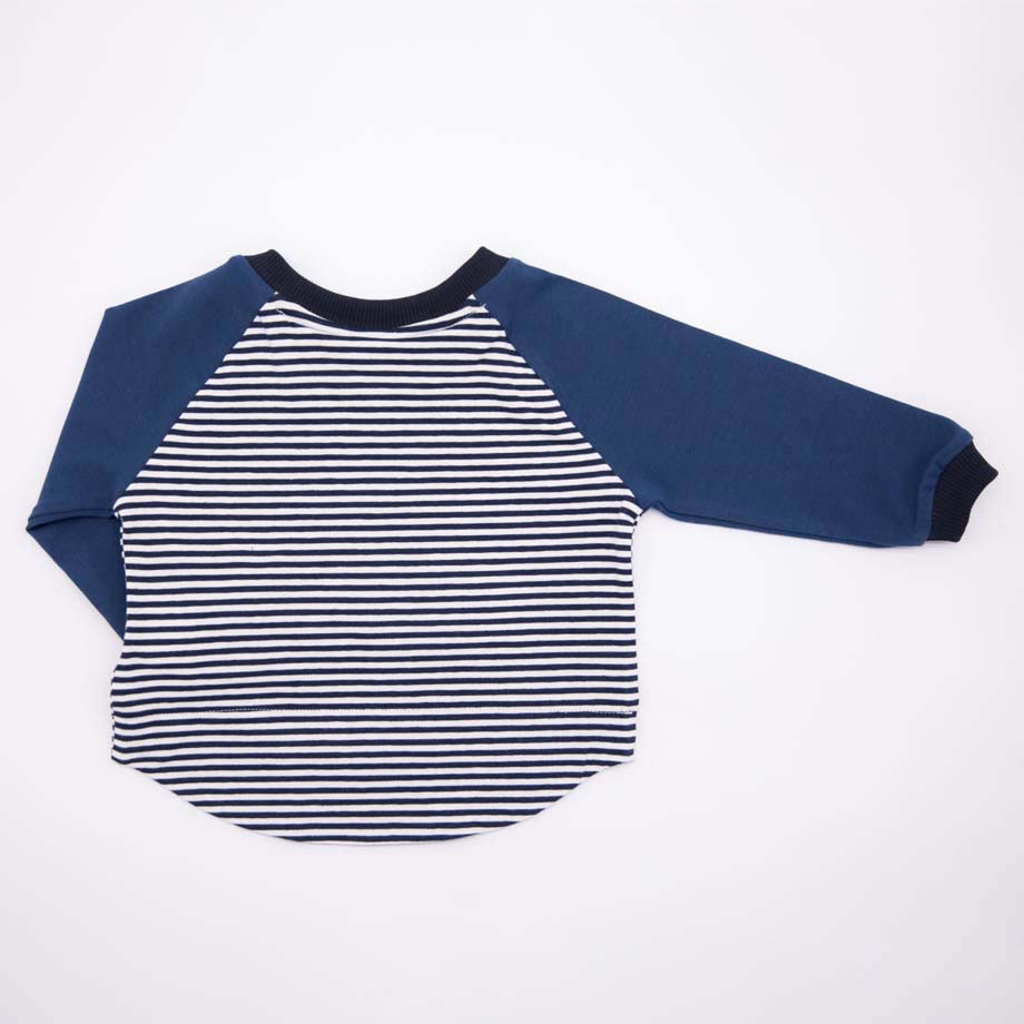 MIMOOKIDS - EASY DRESSING PETROL-NAVY STRIPES (4)