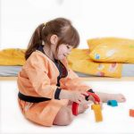 mimOOkids Skirt Pull-me-up mandarina 2