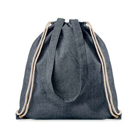 mimOOkids Accessories Recycled Cotton Backpack Dark Denim (2)