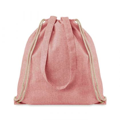 mimOOkids Accessories Recycled Cotton Backpack Pink (2)