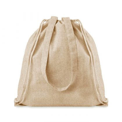 mimOOkids Accessories Recycled Cotton Backpack Sand (2)