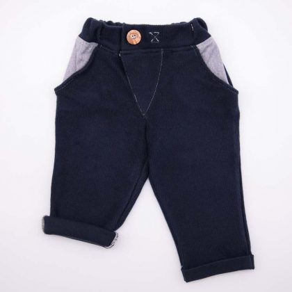mimOOkids Bottoms Close-Me Pant Blueberry Corduray (1)