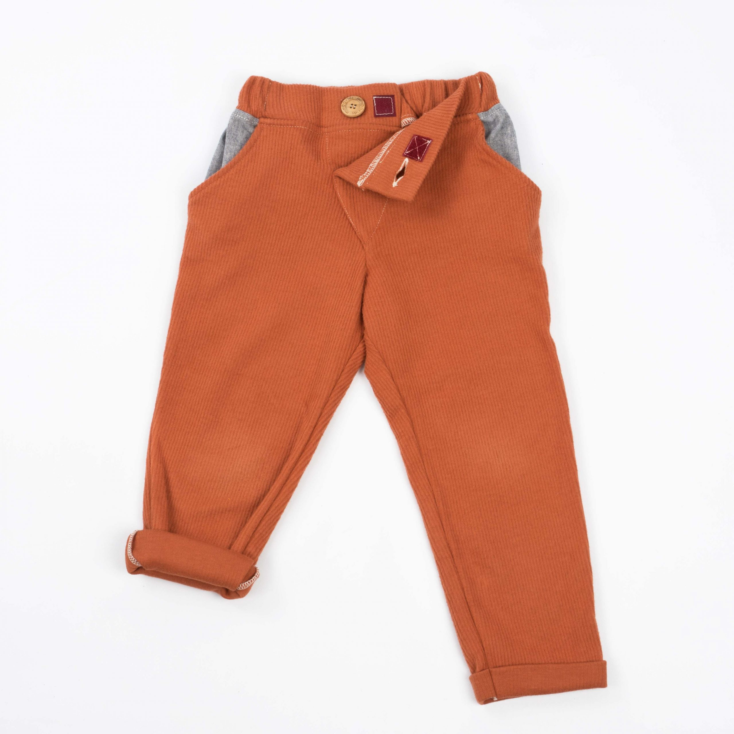 mimOOkids Bottoms Close-Me Pant Caramel (1)