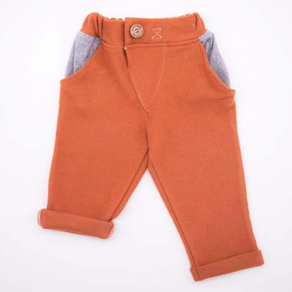mimOOkids Bottoms Close-Me Pant Caramel (2)