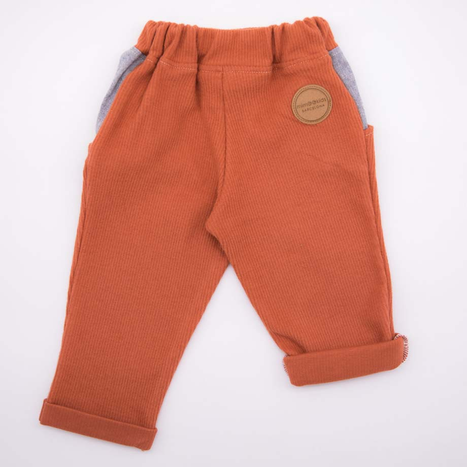 mimOOkids Bottoms Close-Me Pant Caramel (4)