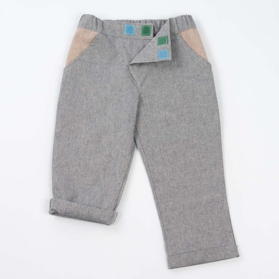 mimOOkids Bottoms Close-Me Pant Denim Recycled cotton (10)