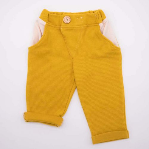 mimOOkids Bottoms Close-Me Pant Honey Corduray (3)