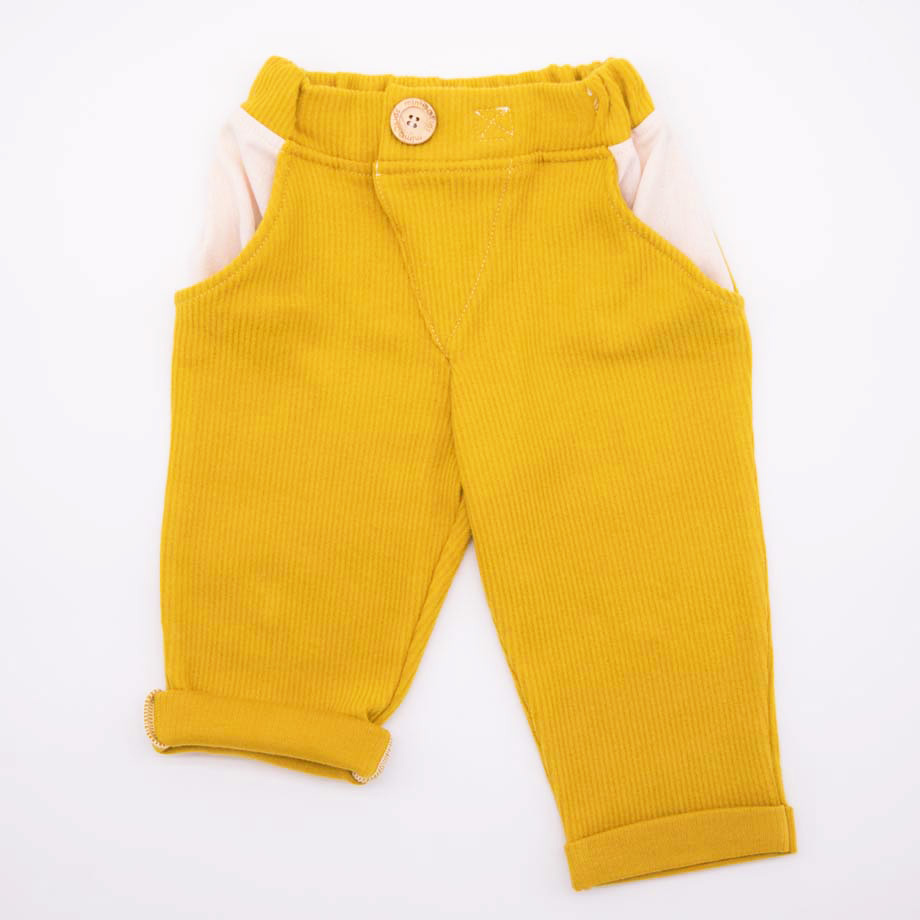mimOOkids Bottoms Close-Me Pant Honey Corduray (5)