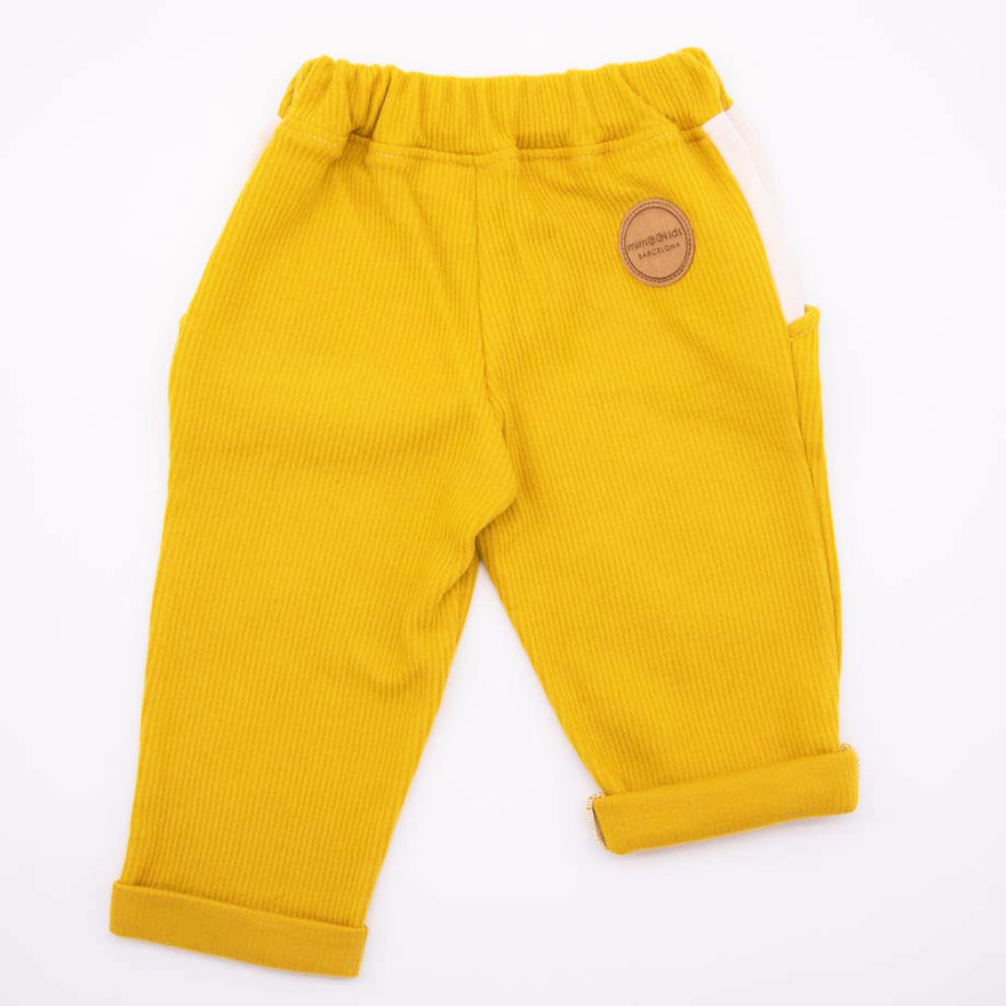 mimOOkids Bottoms Close-Me Pant Honey Corduray (6)
