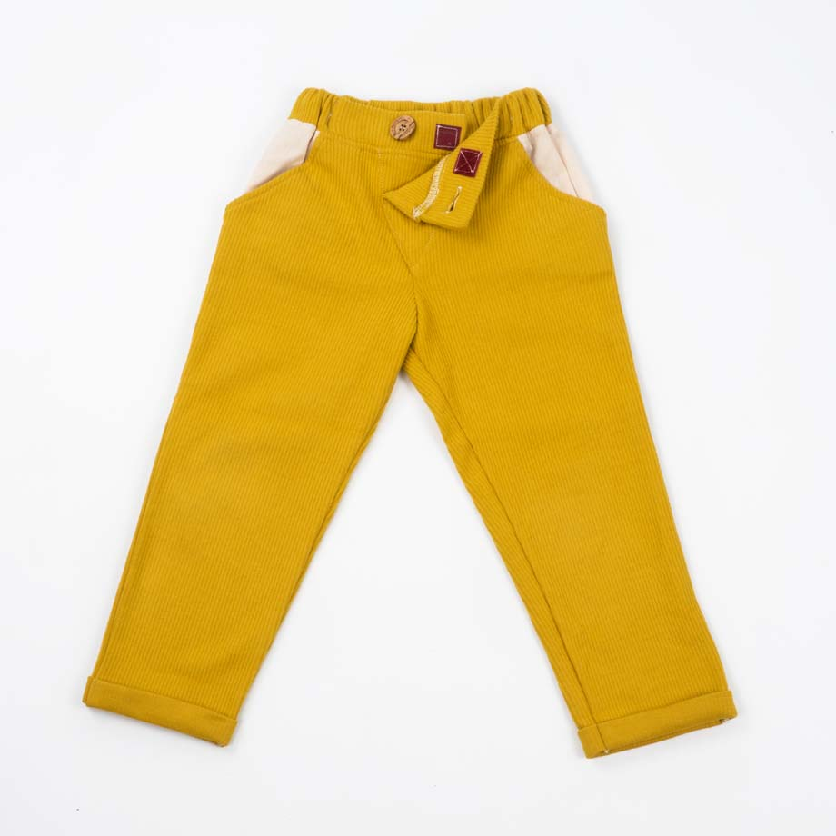 mimOOkids Bottoms Close-Me Pant Honey Corduray (8)