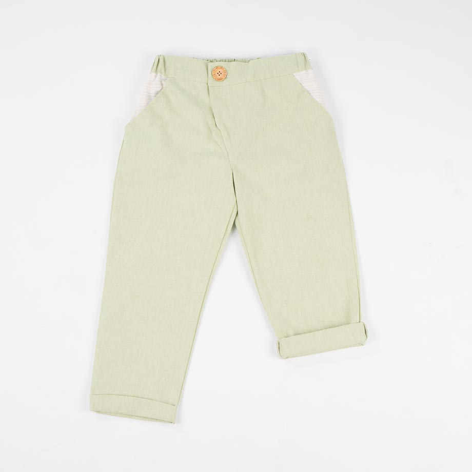 mimOOkids Bottoms Close-Me Pant Pistacho (1)