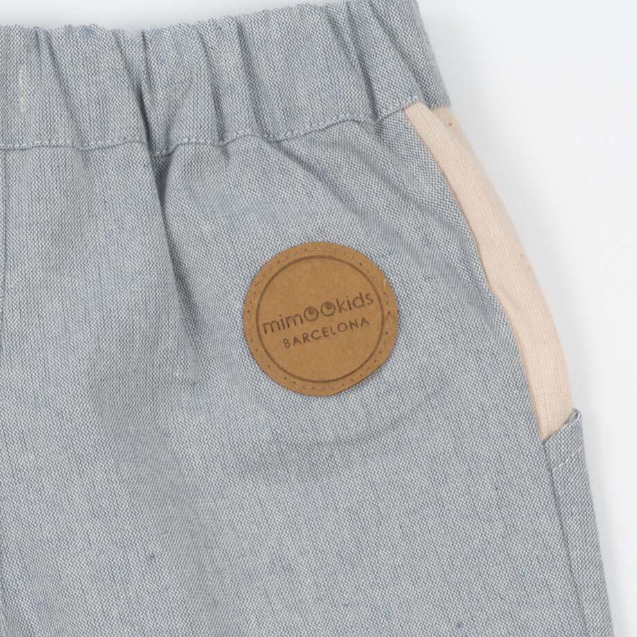 mimOOkids Bottoms Close-Me Short Baby Blue Recycled Cotton (5)