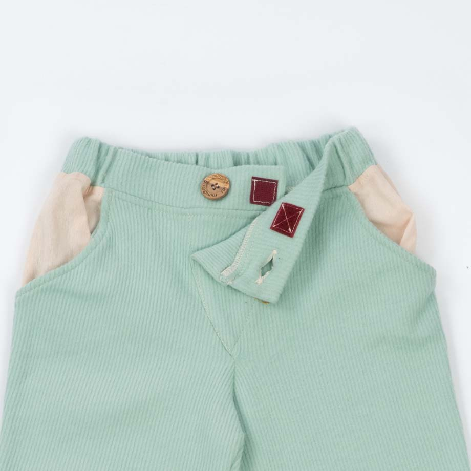 mimOOkids Bottoms Close-me Pant Mint Corduray (3)
