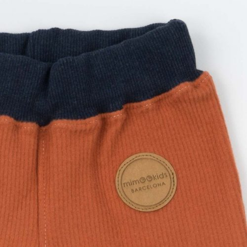 mimOOkids Bottoms Pull-Me-Up Pant Caramel Corduray (1)
