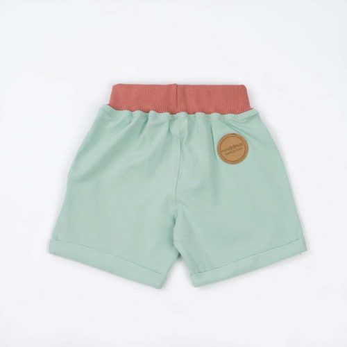 mimOOkids Bottoms Pull-Me-Up Short Mint Frambuesa (3)