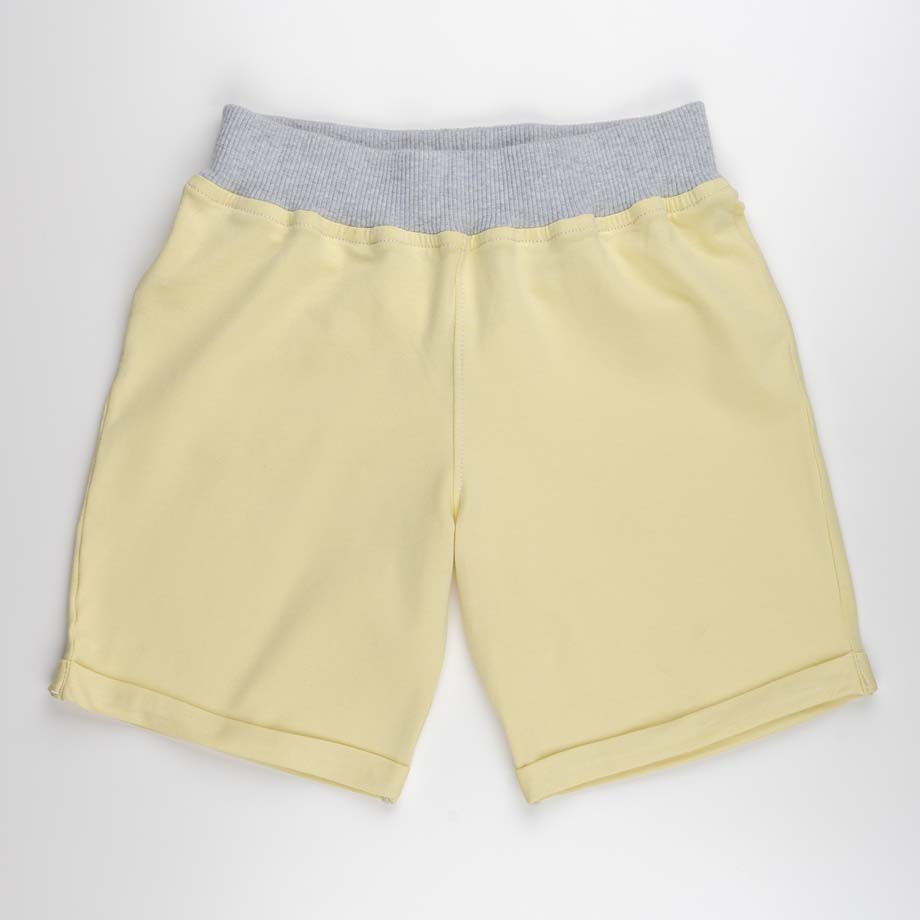 mimOOkids Bottoms Pull-Me-Up Short Vainilla Organic (1)