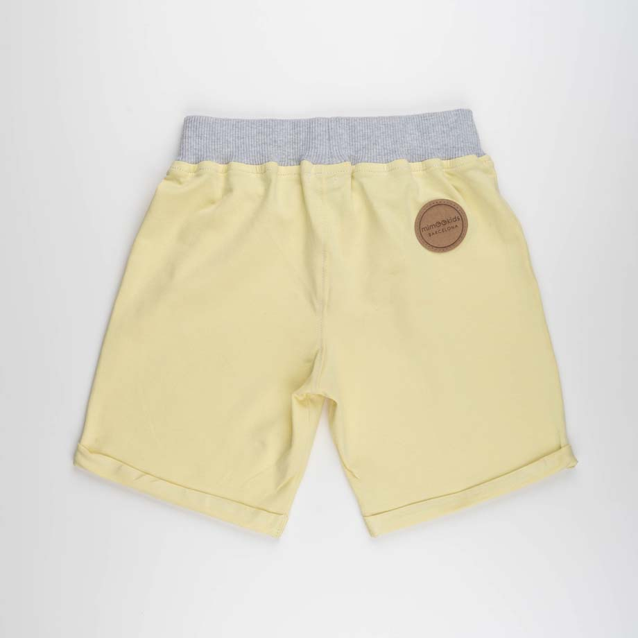 mimOOkids Bottoms Pull-Me-Up Short Vainilla Organic (2)