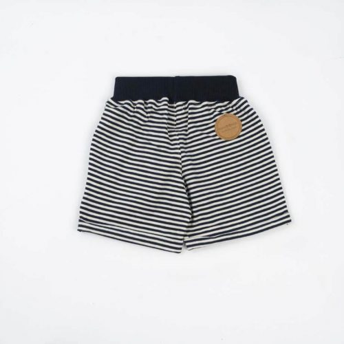 mimOOkids Bottoms Pull-me-up Short Navy Stripes Organic (3)