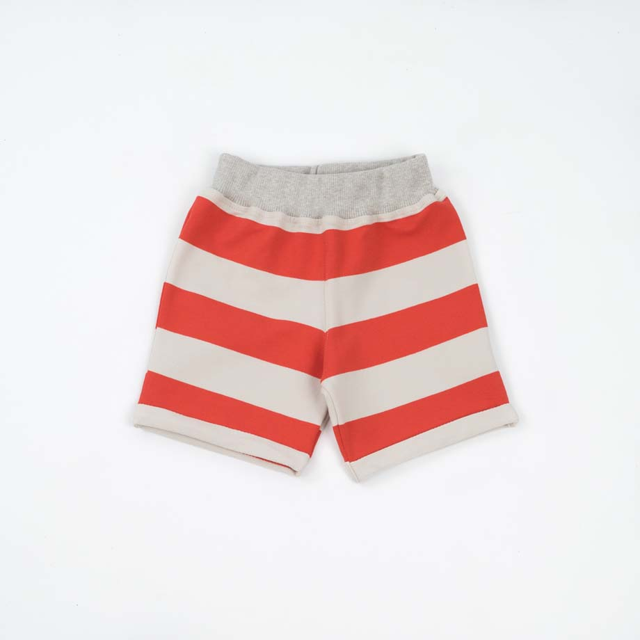 mimOOkids Bottoms Short Red Stripes (2)