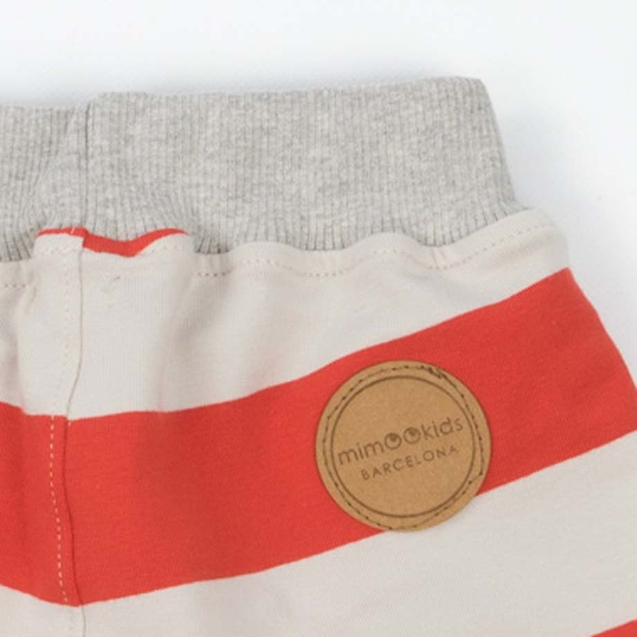 mimOOkids Bottoms Short Red Stripes (4)