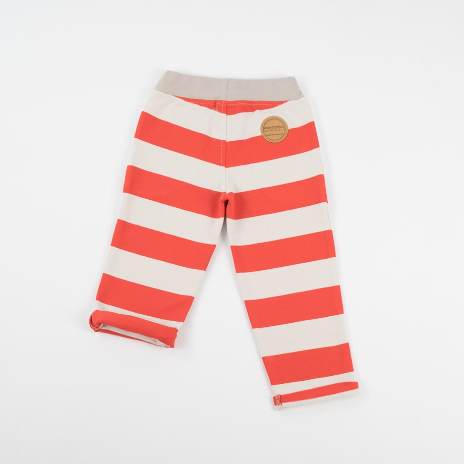 mimOOkids Bottoms pull-me-up pant red stripes (2)