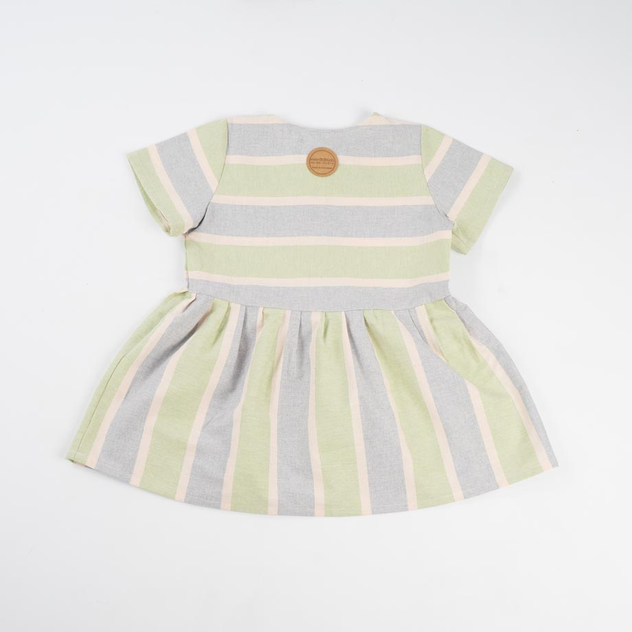 mimOOkids Easy-Dress Stripes Pistacho (2)