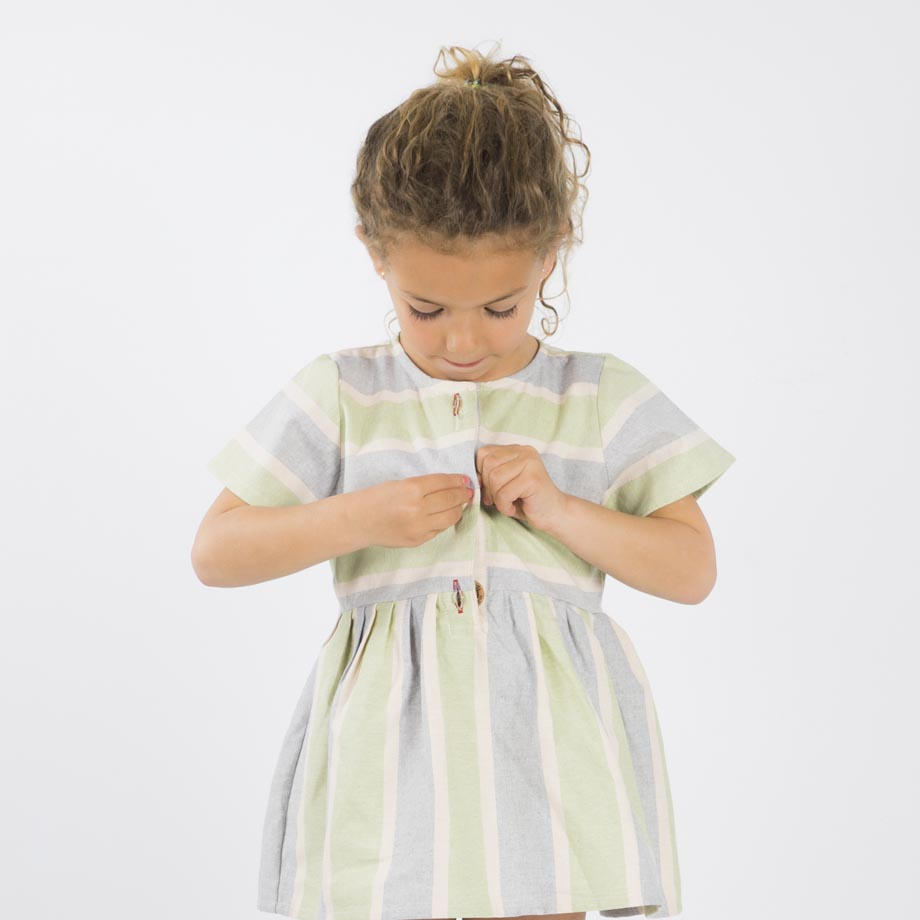mimOOkids Easy-Dress Stripes Pistacho (7)