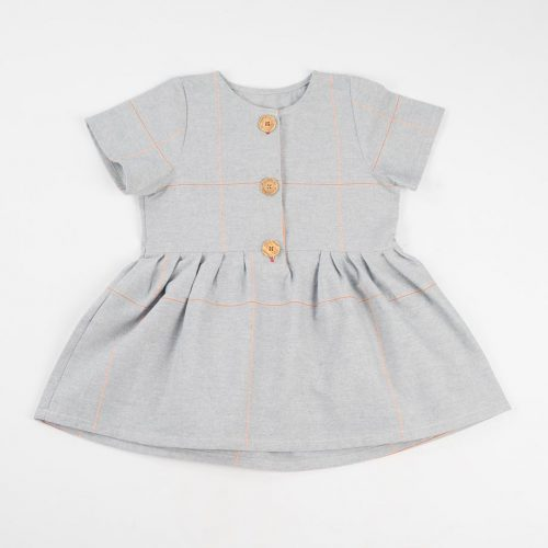 mimOOkids Easy-Dress baby blue mandarina (1)