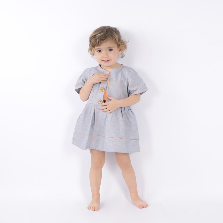 mimOOkids Easy-Dress baby blue mandarina (3)