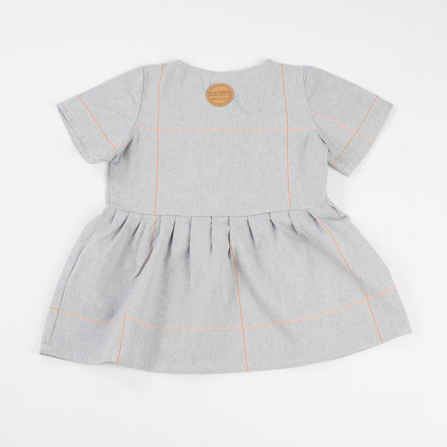 mimOOkids Easy-Dress baby blue mandarina (4)