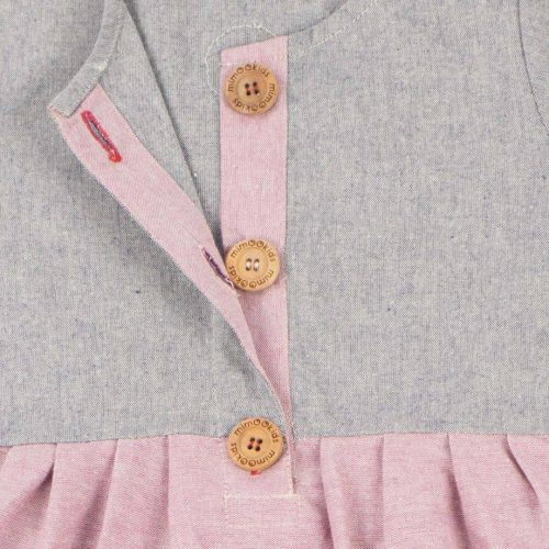 mimOOkids Easy-dress Rose-Denim (1)