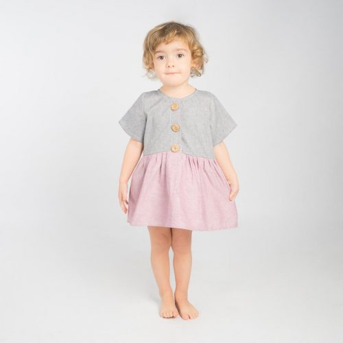 mimOOkids Easy-dress Rose-Denim (6)