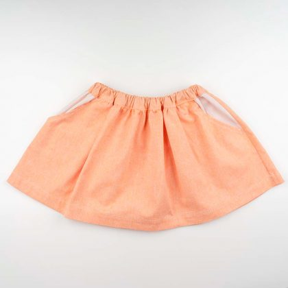 mimOOkids Skirt Pull-me-up mandarina