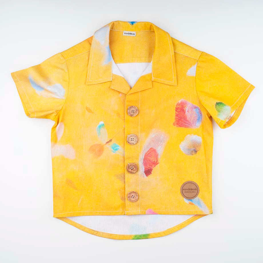 mimOOkids Top Close-Me Shirt Colibri (4)b
