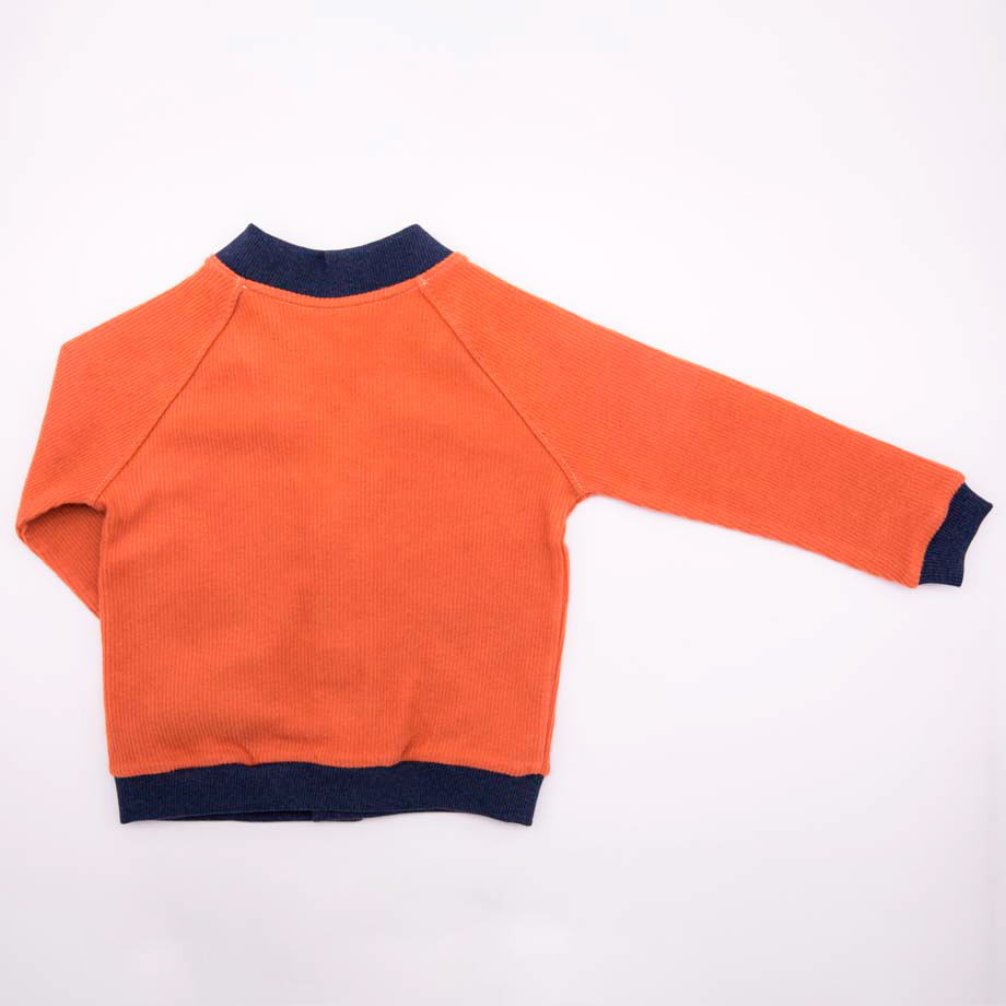 mimOOkids Tops Close-Me Cardigan Caramel Corduray (2)