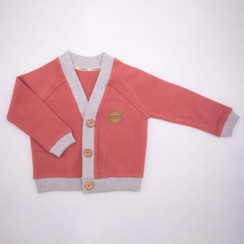 mimOOkids Tops Close - Me Cardigan Frambuesa Corduray (3)