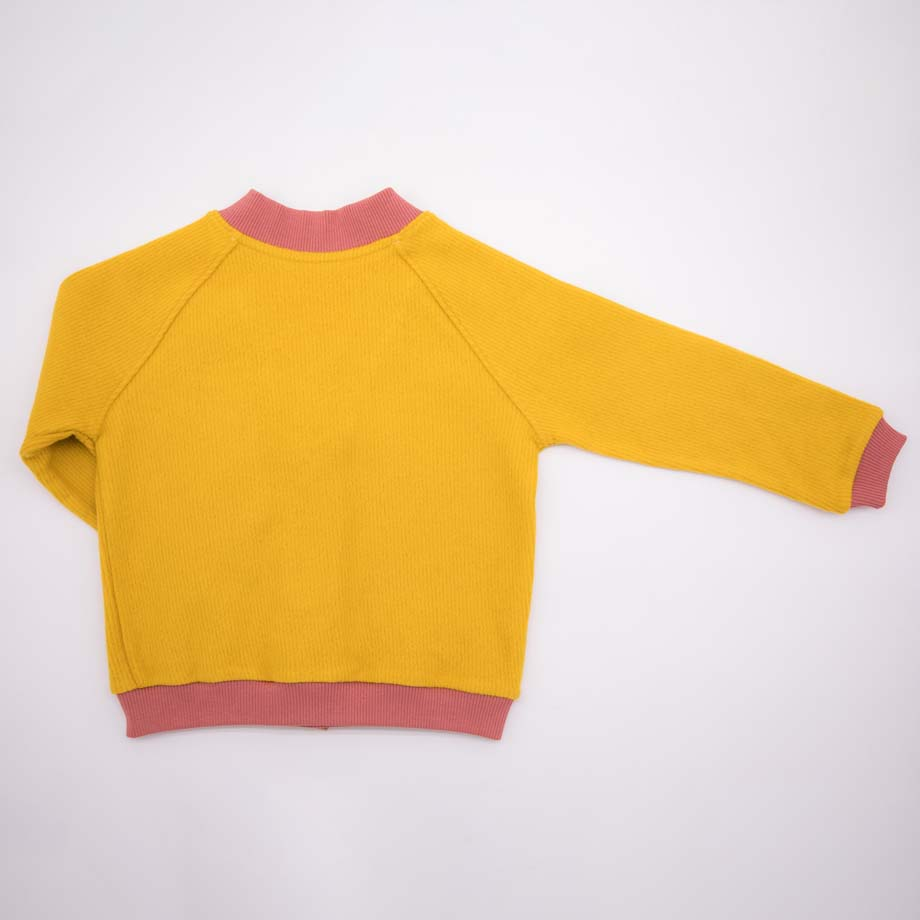 mimOOkids Tops Close-Me Cardigan Honey Corduray (5)