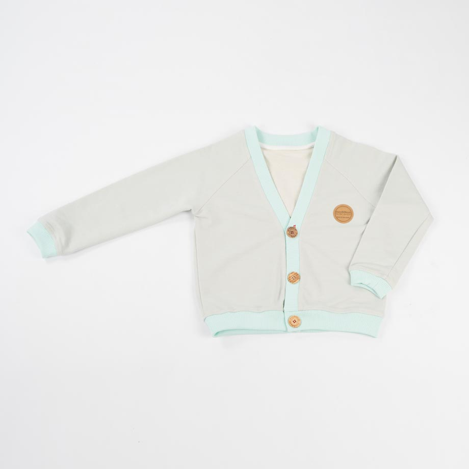 mimOOkids Tops Close-Me Cardigans Frosted Grey (1)