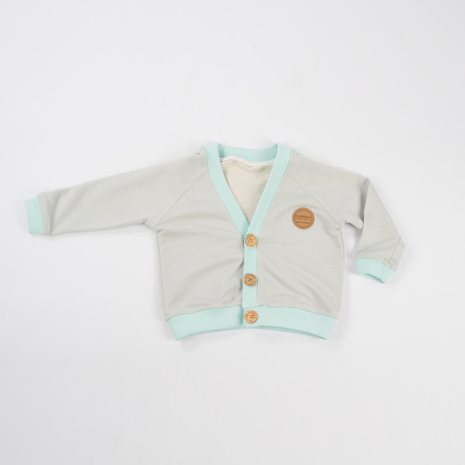 mimOOkids Tops Close-Me Cardigans Frosted Grey (2)