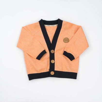 mimOOkids Tops Close-me Cardigan Mandarina (2)