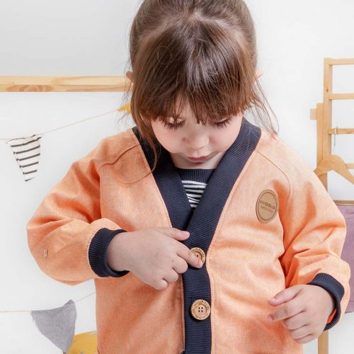 mimOOkids Tops Close-me Cardigan Mandarina (6)