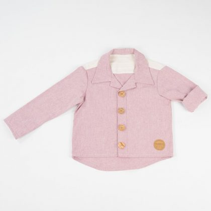 mimOOkids Tops Close-me shirt Rose (1)