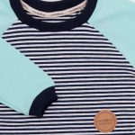 mimOOkids Tops Easy-Dressing Shirt Long Sleeve Stripes Mint (4)