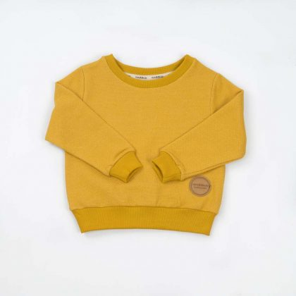 mimOOkids Tops Easy-Dressing Sweater Honey Pique (5)