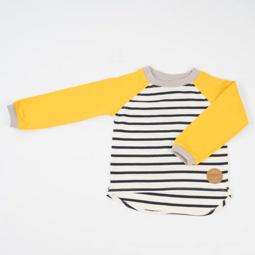 mimOOkids Tops Easy-dressing shirt Stripes Yellow (1)