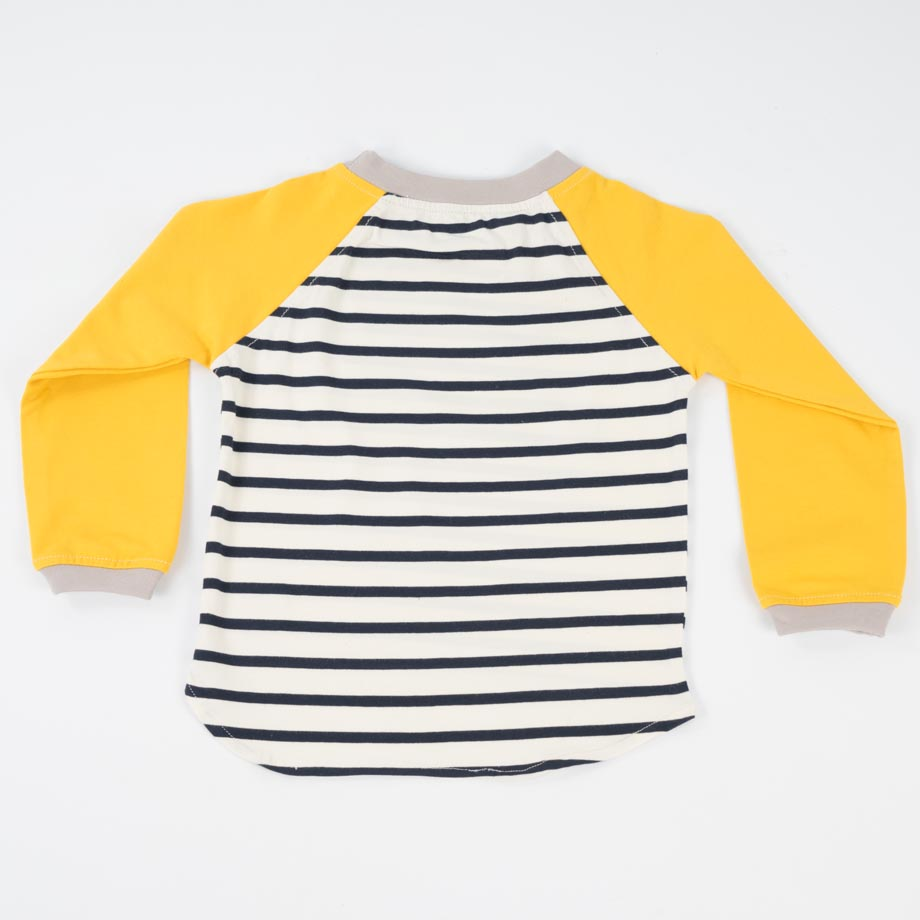 mimOOkids Tops Easy-dressing shirt Stripes Yellow (2)