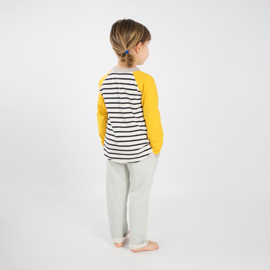 mimOOkids Tops Easy-dressing shirt Stripes Yellow (4)