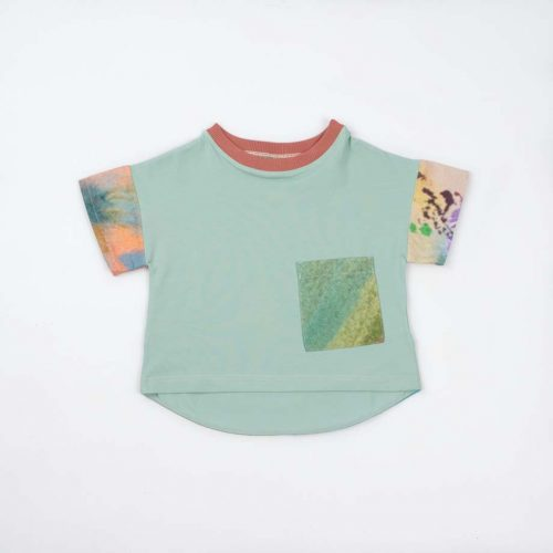 mimOOkids Tops Oversize Shirt Mint Colours Arts (3)